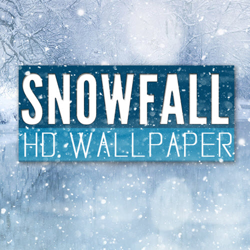 Snowfall HD Wallpaper