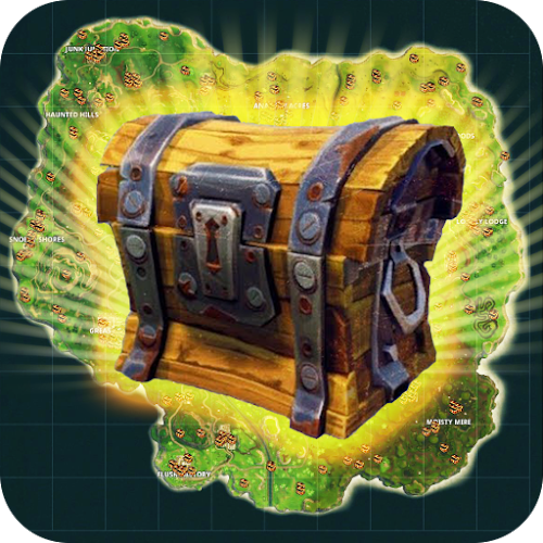 Map with Chests for Fortnite