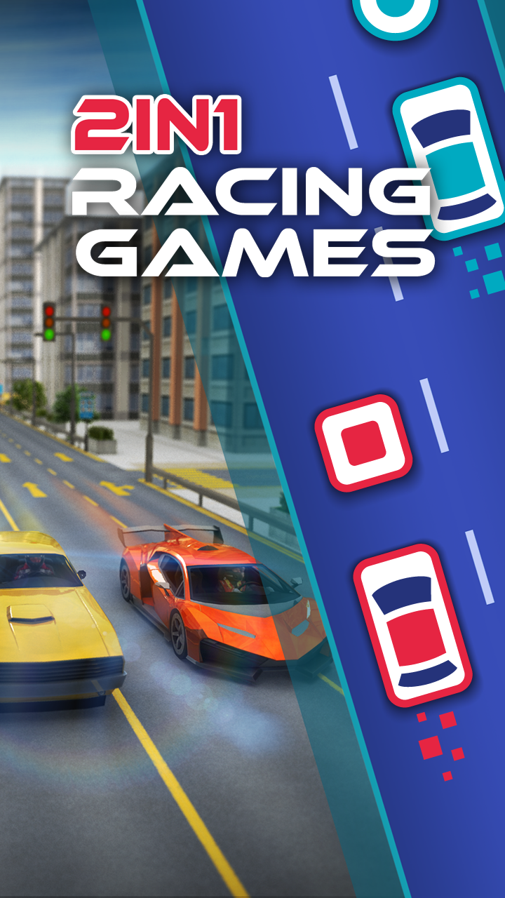 2 in 1 Racing Games