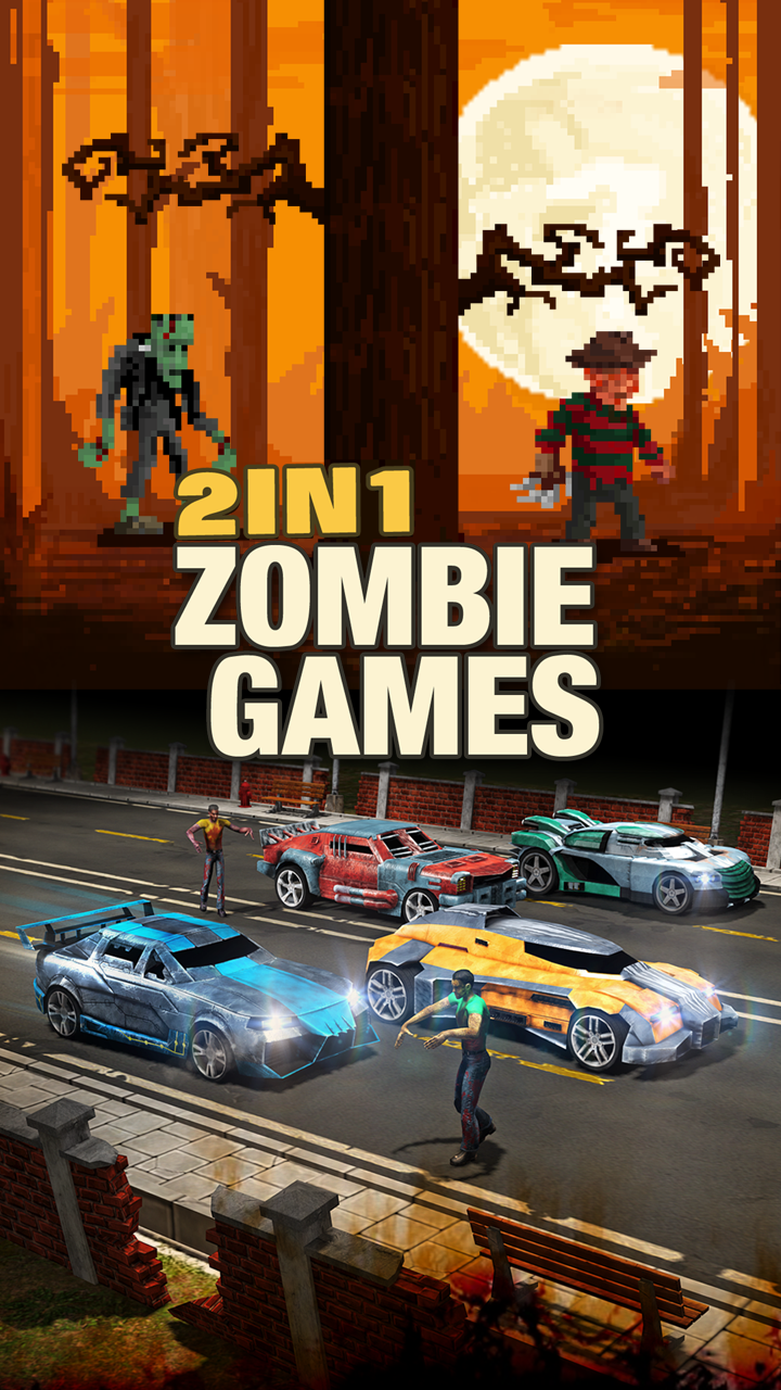 2 in 1 Zombie Games
