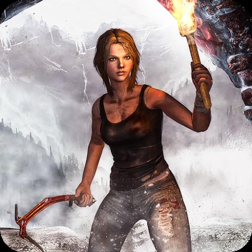 Los espectros antigua Croft Raider: construir