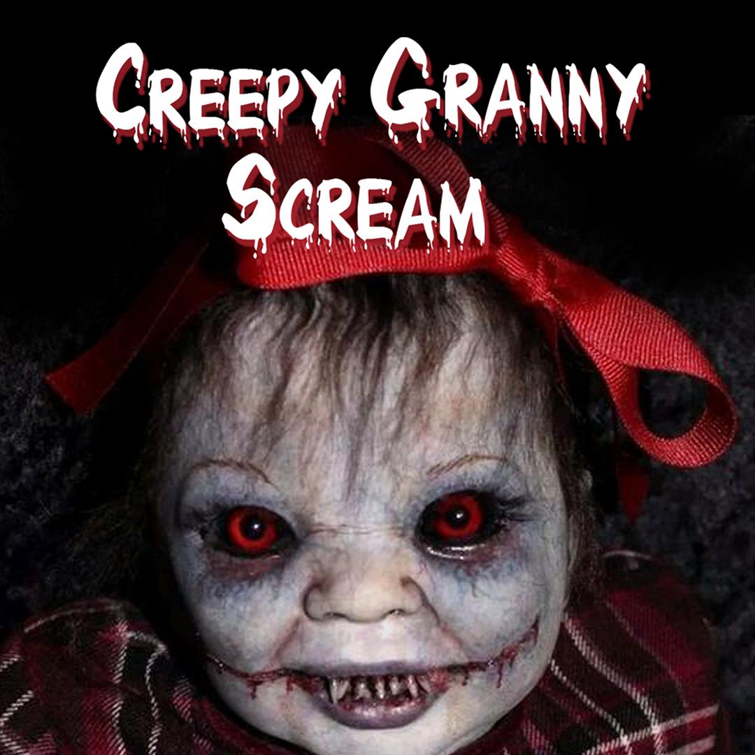 Creepy Granny Scream