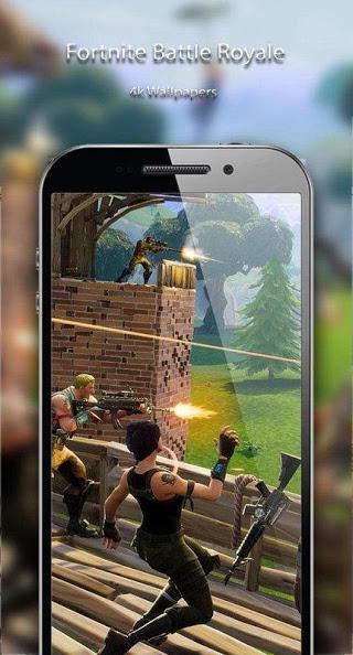 App Android Fortnite Battle Royale Game Wallpaper 4k Hd